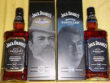 Jack Daniels-Master Distiller Series No. 1 und No. 6 -43% Vol. 1,0 Liter