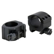 """CCOP 1"""" Matte Picatinny Weaver Style Rifle Scope Rings Low Profile AR-1003WL"""