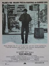 """TAXI DRIVER"" Affiche originale entoilée 1976 (Martin SCORSESE / Robert DE NIRO)"