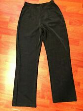 Chicos Travelers Pants Size 0 Forest Green Elastic Waist New Without Tags