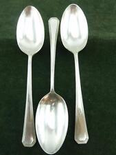 3 nice Vintage  Mappin & Webb Serving Spoons silver plated EPNS Athenian pattern