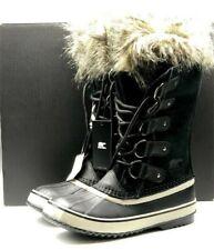 Sorel Women's Joan of Arctic Winter Boots Black Quarry  Brand New in Box Size 9