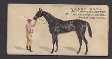 KINNEY - FAMOUS RUNNING HORSES (ENGLISH) - VOLTIGEUR