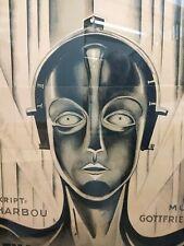 Metropolis - Classic Movie Poster - 3 Feet× 7 Feet !Huge! Local Pick Up