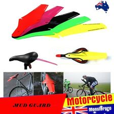 BLACK BICYCLE BIKE REAR WHEEL PLASTIC MUD GUARD FENDER BOARD GEAR OUSH BICYCLE
