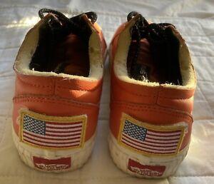Vans NASA Space Voyager Old Skool JFK Orange Skateboard Sneakers
