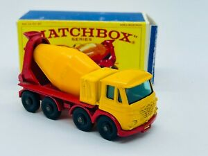 Matchbox #21 Foden Concrete Truck