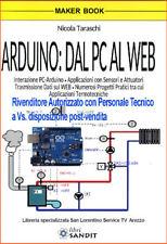 INTERFACCIARE ARDUINO E PC APP CON SENSORI TRASMISSIONI DATI WEB DOMOTICA CASA
