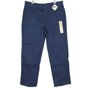NWT Dickies 874 Original Fit Work Pants Bottom Size 32 38 40 Navy Blue Brand NEW