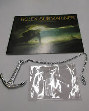 1989 ROLEX Submariner 16613 16618 16610 5513/0 16660 Watch Instructions & Anchor
