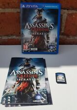 Assassins Creed 3 Liberation PS Vita Playstation Game Complete
