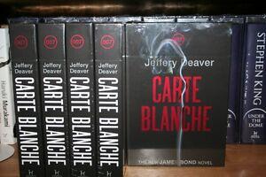 JEFFERY DEAVER + CARTE BLANCHE + SIGNED DELUXE 1 / 750