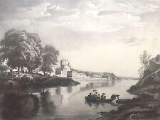 Estampe de Lyon Saint-Rambert (1835) par E.Hostein
