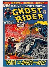 MARVEL SPOTLIGHT #6 - GHOST RIDER ORIGIN ISSUE - CGC IT! NM+ OR BETTER