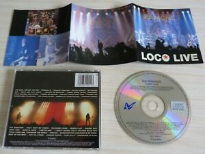 "CD ALBUM "" LOCO"" LIVE THE RAMONES 33 TITRES 1991"