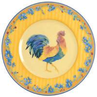Fitz & Floyd Coq Du Village Salad Plate 5531432