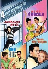 4 Film Favorites Elvis Presley Blues 0883929394067 DVD Region 1
