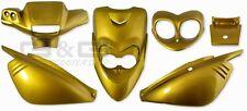accessoire de déguisement Kit en or metallique pour mbk booster yamaha bws ng