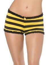 Bijou Boutique. Black Yellow Bumble Bee Knickers. Panties.  Fancy Dress.  16-18