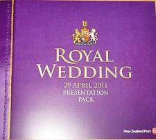 NEW ZEALAND NEUSEELAND 2011 2781-82 Block 271 ERROR Wedding Prince William Kate