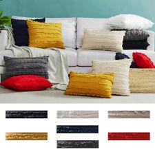 Modern Art Pattern Cotton Linen Pillow Case Sofa Throw Cushion Cover  UK