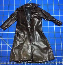 """Sideshow 1/6 Scale VAN HELSING 12"""" Figure Brown Long Jacket Leather Duster"""