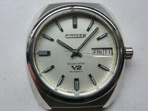 Citizen Seven Star V2 Automatic 4-720113 Day/Date Vintage Men's Watch wl27471