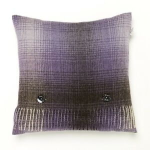 100% pure lambs wool feather filled cushion  BRONTE - WHISTLER LAVENDER