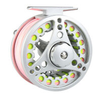 1/2/3/4/5/6/7/8WT Fly Fishing Reel Combo Large Arbor Aluminum Reel & Fly Line