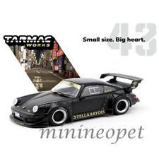 TARMAC WORKS T43-013-MB RAUH WELT PORSCHE 911 930 RWB STELLA ARTOIS 1/43 BLACK