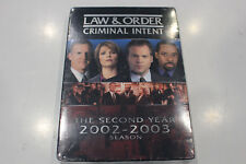 New - Law & Order Criminal Intent - The 2nd Year Season - DVD -  Region 1