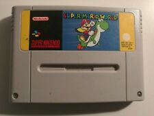 Super Mario World Super Nintendo Snes Fah
