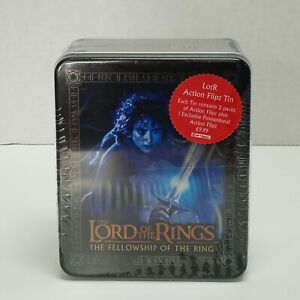 Frodo Lord of the Rings The Fellowship of the Ring 2 Pack Action Flipz & Tin NEW