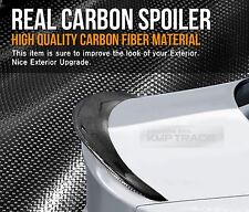Real Carbon Fiber Rear Trunk Spoiler P Type For BMW 2006-2012 3Series E90 Sedan