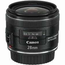 Canon EF 28mm f/2.8 IS USM Lens Covered by Canon USA 1yr Warranty