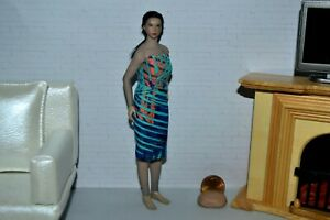 "1:12 Scale Doll Dress Fits TBLeague PHICEN Seamless 5 3/4"" Med Bust Dolls"