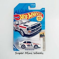 2019 Hot Wheels '84 Audi Sport Quattro #43  White BAJA BLAZERS 7/10