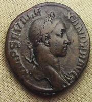 ROMAN EMOIRE, SEVERUS ALEXANDER, 222-231 AD, AE SESTERTIUS, VICTORY, ROME MINT