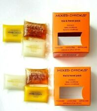 2 pk MIXED CHICKS Trial & Travel Pack Shampoo, Conditioner, Leave-in Conditioner