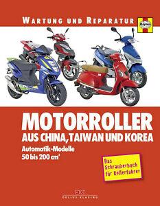 WERKSTATTHANDBUCH REPARATURANLEITUNG MOTORROLLER AUS CHINA TAIWAN UND KOREA