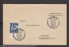 Dr Letter Mi-NR 779 (25 PF) with Edge and SST Hamburg 1941 (2 _ 17)