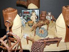 VTG~Kenner~Star~Wars~1977~1981~1982~1983~Ewok~Village~playset~action~figures~lot