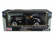 1939 Chevy Coupe Die-cast Car 1:24 Motormax 8 inch Black