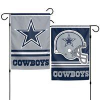 """Brand New NFL Dallas Cowboys  2 Sided 12"""" X 18"""" Garden Flag Wincraft"""