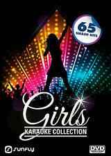 GIRLS KARAOKE HITS VOL1 + 2 SUNFLY KARAOKE DVD - 130 HIT SONGS