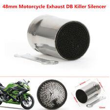 48mm Motorcycle Bikes Exhaust DB Killer Silencer Muffler Baffle Kit 67mm Length