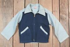 Vintage 1950s Ruff & Tumble Boys 'Ricky' Type Jacket 2-Tone Blue/Gray Rockabilly