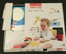 Stokke Baby Clear Suction Dining Table Top Tray For Tripp Trapp or Booster Use