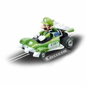 Carrera Nintendo Mario Kart 8 Circuit Special 1:43 Pull Back Model Car  - Luigi