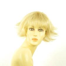 Perruque femme courte blond doré méché blond très clair  MELISSA 24BT613